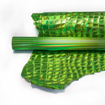 Lamina metallizzata olografica