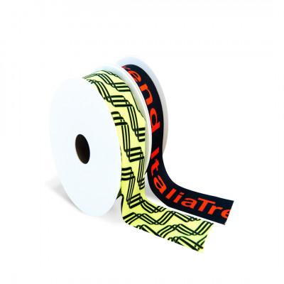 Ribbons with logos