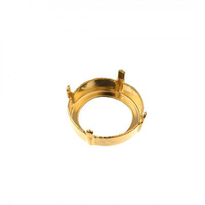Castone in ottone diametro mm.18 - SS75 -