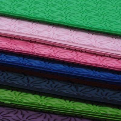 Lastre di microporosa espansa E.V.A., stampate a zeppa oppure a tacco