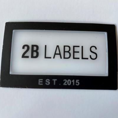2B LABELS PU GLASS