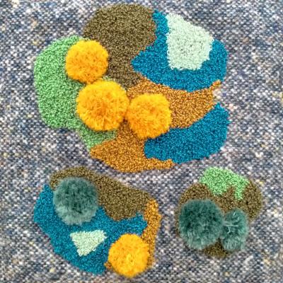 Sponge Stitch Embroidery