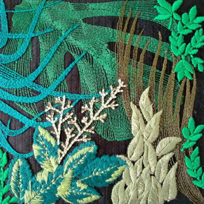 Multi-Layer Industrial Embroidery
