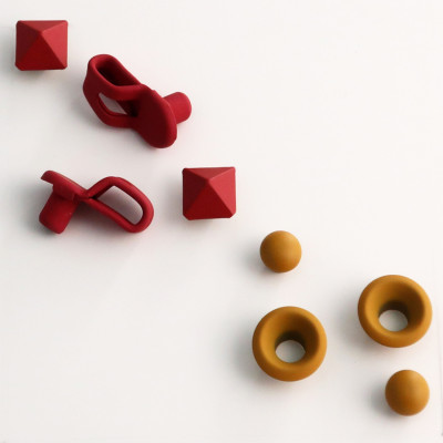 Rubberized painting loop and eyelets