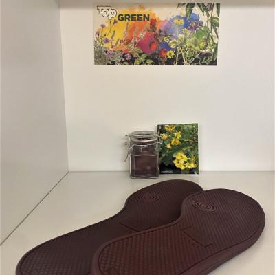 TOP GREEN RUBBER SOLES