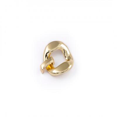 Attacco  ad anello con passante mm20
