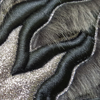 Three-dimensional embroidery, high frequency, 3T