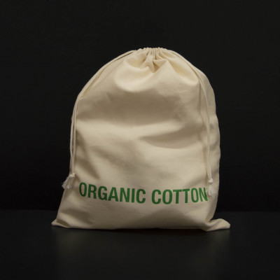 BAGS MADE OF 100% ORGANIC COTTON