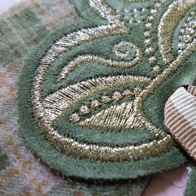 Embroideries and Carvings