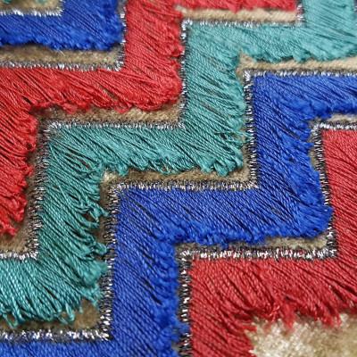 Yarn fringes