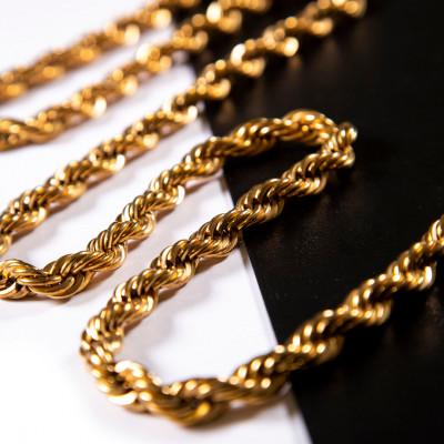 Rope iron chain 9x7x1.2 mm