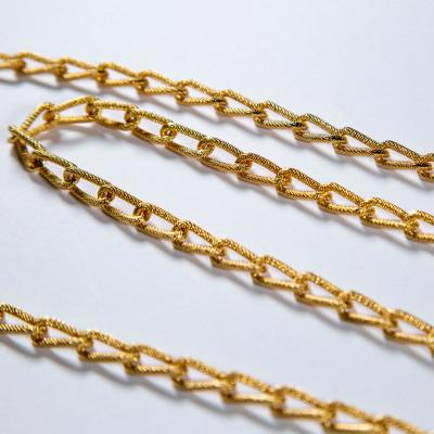 Aluminum Curb Chain  15x8 mm F2