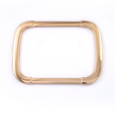 Rectangular handle  gold lacquered W1410022/106