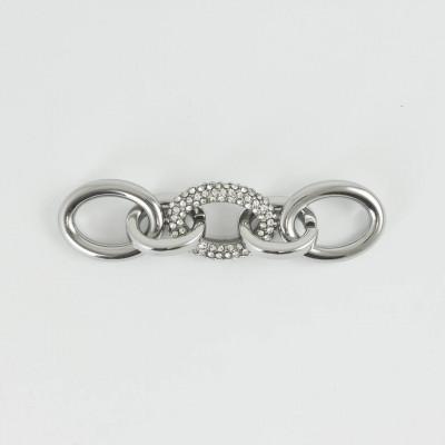 Accessorio gioiello con strass