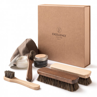 SMOOTH LEATHER SHOE CARE SET - VIPL1