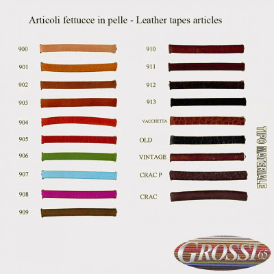 Leather tapes