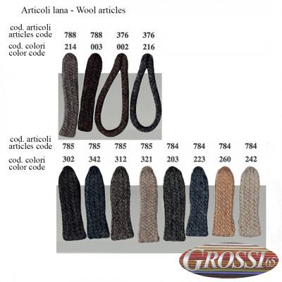 Lacci in lana