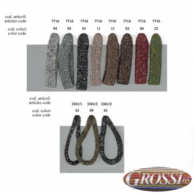 Lacci in lana riciclata