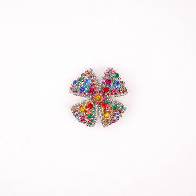 Jewel accessory with rhinestones