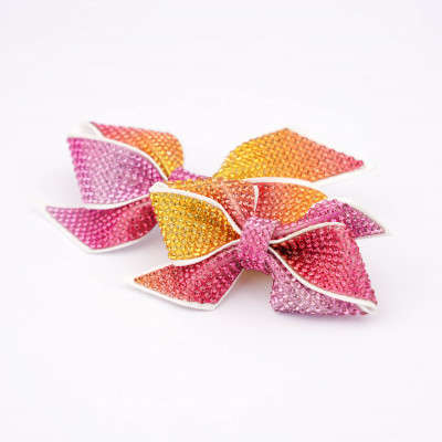 Bow accessory with strass