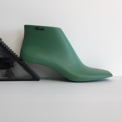 Last woman n.37 sandal toe square heel 50