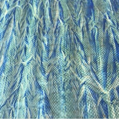 "Panel Ayers Snake Multicolored \\"" Batik\\"""