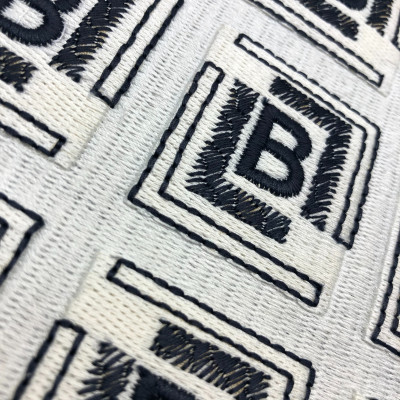 Embroidery Print Effect