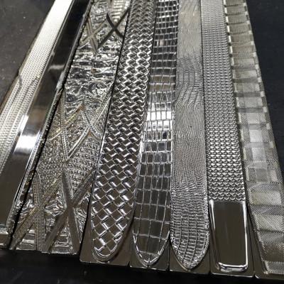 Stampo ottone lineare per stampare cinture