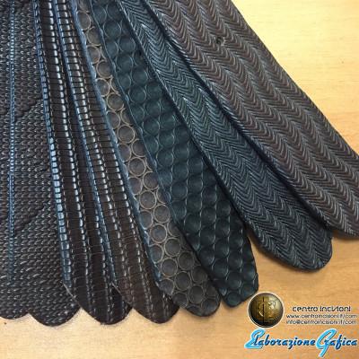 Rullo ottone/acciaio per stampare cinture