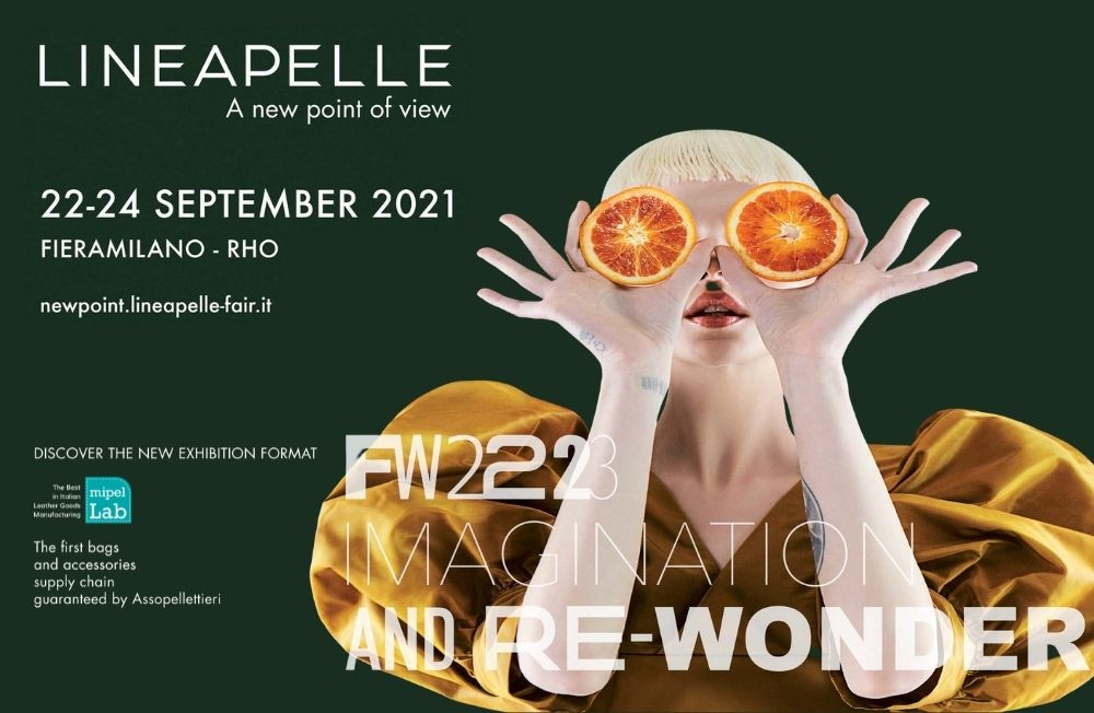 LINEAPELLE – A NEW POINT OF VIEW TORNA A FIERAMILANO – RHO IL 22-24 SETTEMBRE 2021