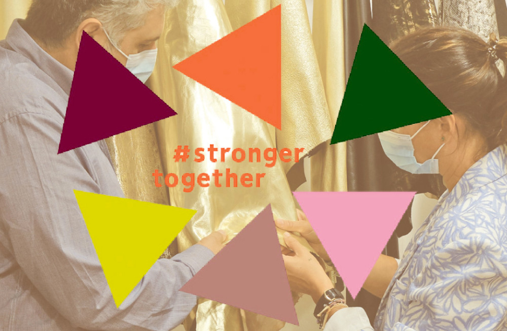 FASHION TRADE FAIRS GET GOING AGAIN WITH #STRONGERTOGETHER